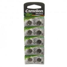 Camelion  AG10  BL10 Mercury Free 389A LR1130. 189 10. 100