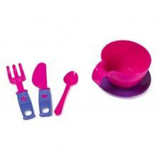 Zebra Toys 15-10037-4 Набор посудки Для завтрака 48шт. уп