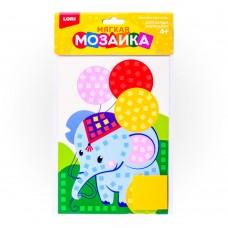 LORI Мягкая мозаика Кэ-005 Малый набор Слоник