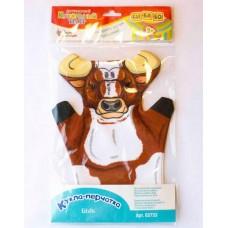 Десятое кор.   Домашний кукольный театр 03733 Кукла-перчатка Бык