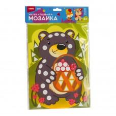 LORI Увлекательная мозаика (набор большой) Км-015 Мишка с лукошком