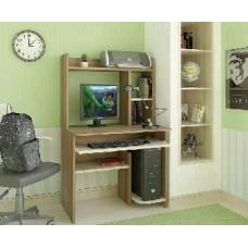 Компьютерный стол AТЛАНТ Интел 1 Ясень шимо тёмн./Ясень Шимо Светл. (1 упаковка)