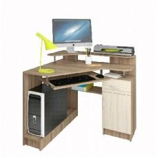 Компьютерный стол AТЛАНТ Интел 5 Ясень шимо тёмн./Ясень шимо Светл.(1 упаковка)