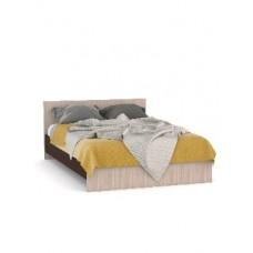 Мебель-Комплекс Каркас кровати Камелия ККМ 1400 под матрац 2000*1400 Ясень Шимо Ясень Светлый/Венге