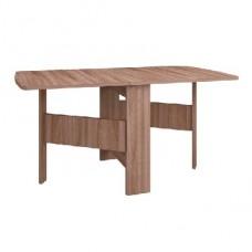 Мебель-Комплекс Стол-тумба полукруглый Ясень Шимо темный (1 пак.)