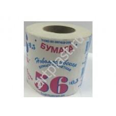 Бумага туалетная АРТПЛАСТ (СГТ30523) 1 слойная - 56 МЕТРОВ на втулке - Россия (50)