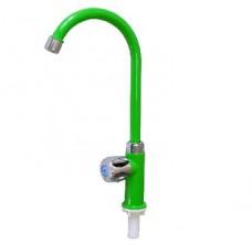 """Смеситель BRIMIX 604 Кран на одну воду пластиковый , металлокерамика """" ГРИН """" (4 шт. в коробке)"""