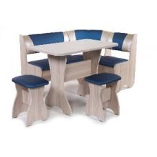 БИТЕЛ Набор мебели для кухни ТЮЛЬПАН Ясень/Терракот С-120 Бежевый С-101 (4 кор)
