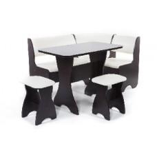 БИТЕЛ Набор мебели для кухни ТЮЛЬПАН Венге/Крем (кремовый) (4 кор)