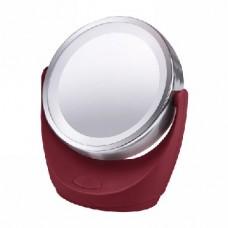 Зеркало косметическое MARTA MT-2646 бордовый гранат