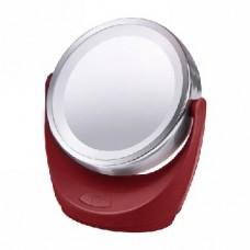 Зеркало косметическое MARTA MT-2647 красный рубин