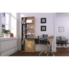 Мебель-Комплекс Стол компьютерный Рочестер антрацит/кока-бола (3уп)