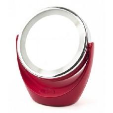 Зеркало косметическое MARTA MT-2648 красный рубин