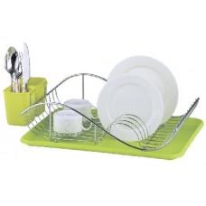 ZEIDAN Z-1170 зеленая Сушилка для посуды
