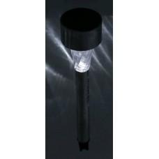 INBLOOM Фонарь садовый на солн. батарее 1.2В 40 мАч, пластик, нерж.сталь, 4,7х31см 185-034