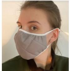 EcoSapiens ES-600 GREY(15шт /уп) маска защитная многоразовая (не медицинская)