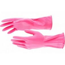 ELFE Перчатки хозяйственные латексные, L 67883