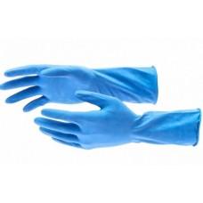 ELFE Перчатки хозяйственные латексные C хлопковым напылением, M 67886