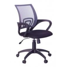 ЯрКресло Кресло Sti-Ko44/LT/grey спинка сетка серый, сиденье черный, на пиастре
