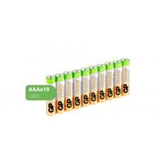 GP LR03 (24A-2CRB10) SUPER ALKALINE 24А ААA - 10 шт