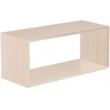 Полка VENTAL Кубик-2 беленый дуб