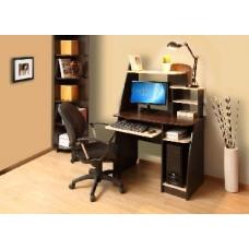 Компьютерный стол АТЛАНТ Интел 17 Венге Магия/Дуб Девонширский (1 упаковка)