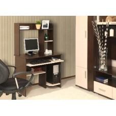 Компьютерный стол АТЛАНТ Интел 1 Венге Магия/Дуб Девонширский (1 упаковка)